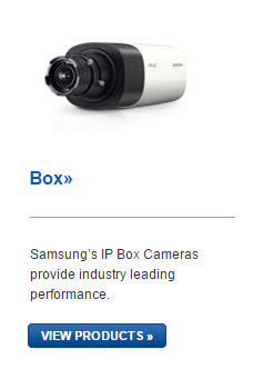 Samsung IP Box Cameras