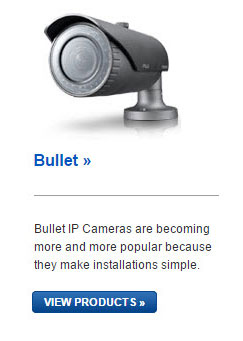 Samsung Bullet IP Cameras