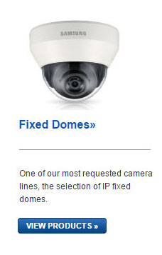 Samsung Fixed Dome IP Cameras