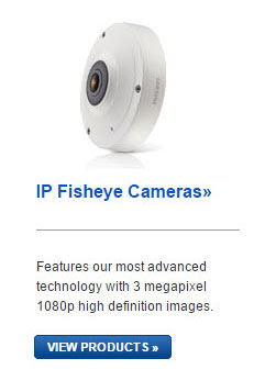 Samsung IP Fisheye Cameras