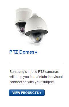 Samsung PTZ Cameras
