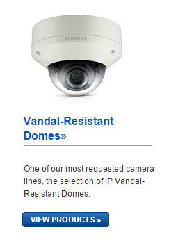 Samsung IP Vandal-Resistant Domes