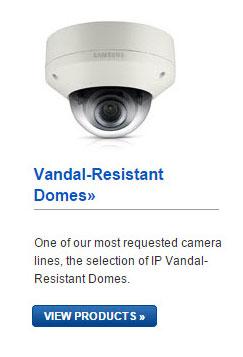 Samsung IP Vandal-Resistant Domes