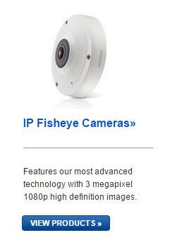 Samsung IP Fisheye Cameras